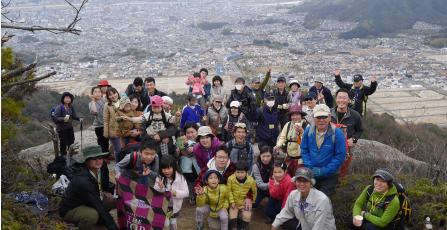 武田山へ登山