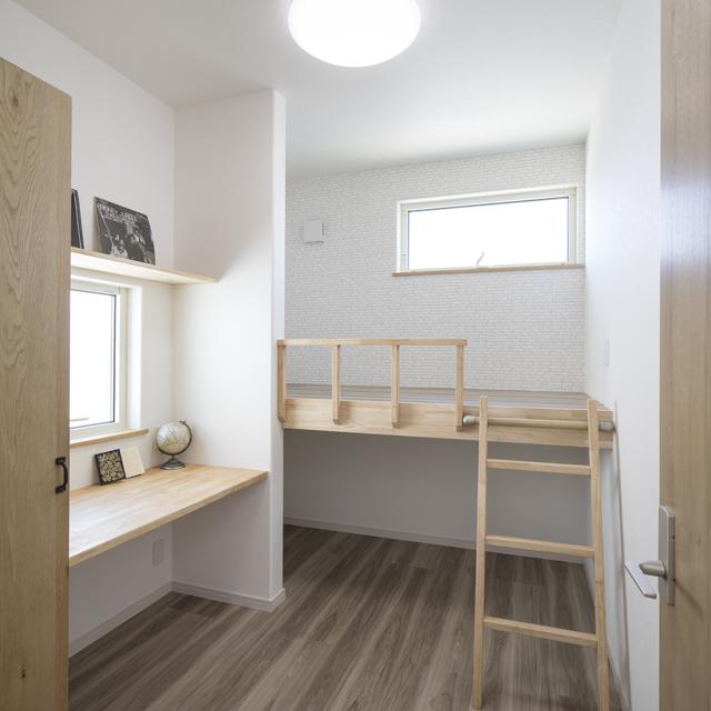 2階子供室のローロフト