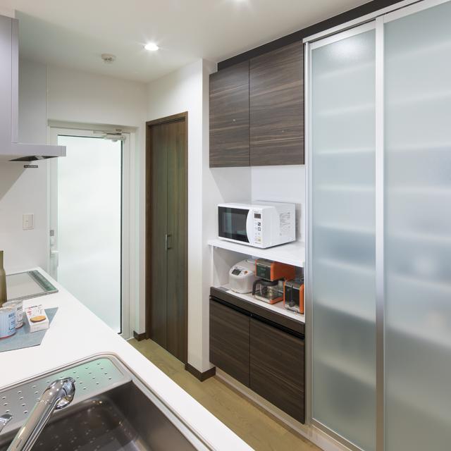 キッチン周りの便利な収納